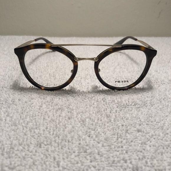 92d83781f77d Prada Black Havana Round Retro Eyeglasses. M 5b7ba3d6fb3803cb4f209dda.  Other Accessories ...